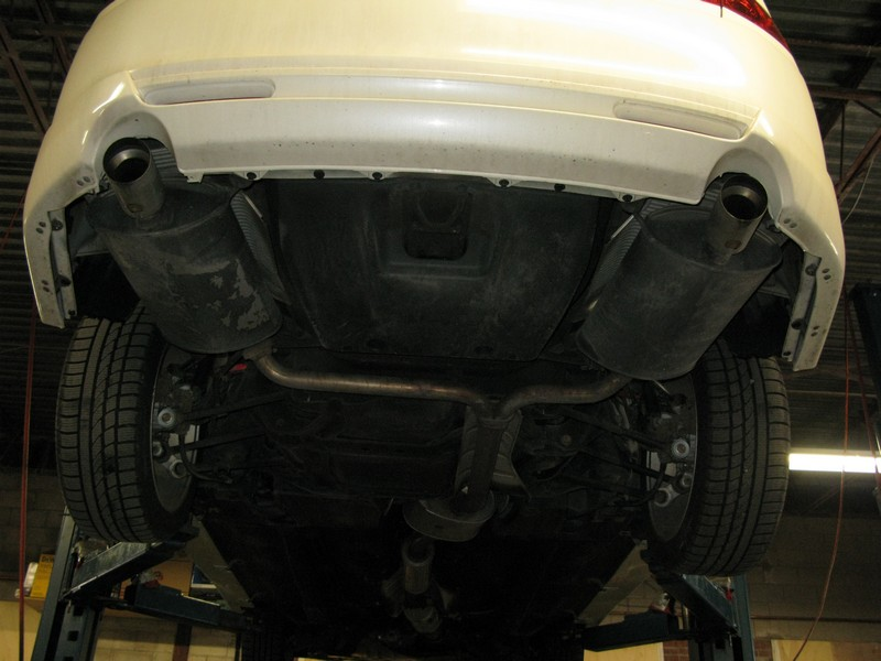 Installed Fujitsubo Exhaust Acura TSX Forum - Acura tsx exhaust